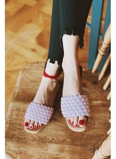 Arma Shoes Kadın London Ev Terliği Pudra